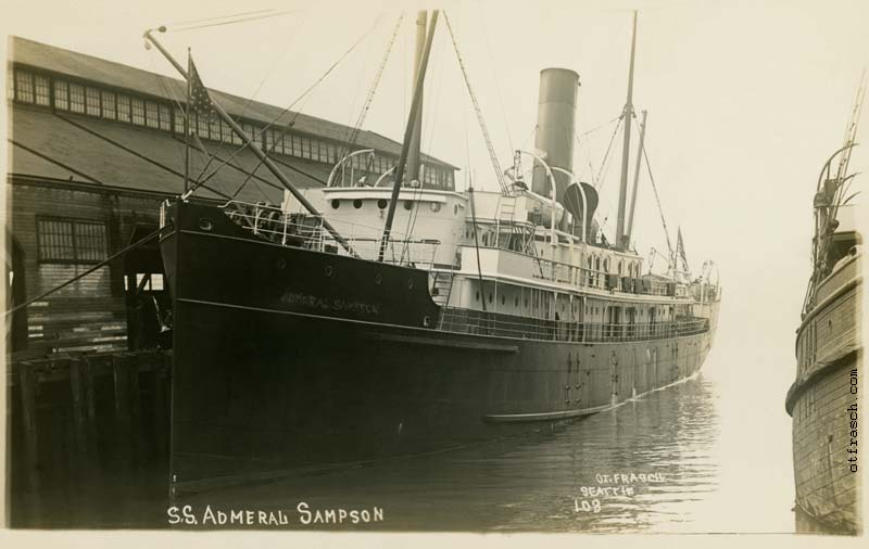 O. T. Frasch Image 103 - S.S. Admeral Sampson