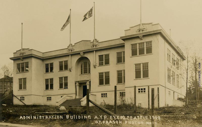 O.T. Frasch Image 1-1 - Administration Building AYP Expo Seattle 1909