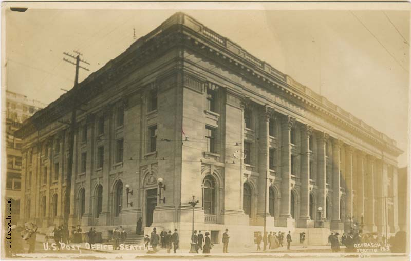 O. T. Frasch Image 123 - U.S. Post Office Seattle