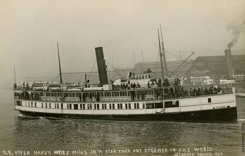 O. T. Frasch Image 164 - S.S. Flyer Makes More Miles in a Year then Any Other Steamer in the World