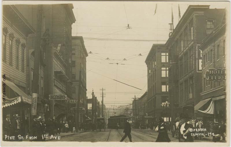 O. T. Frasch Image 172 - Pike St. from 1st Ave.