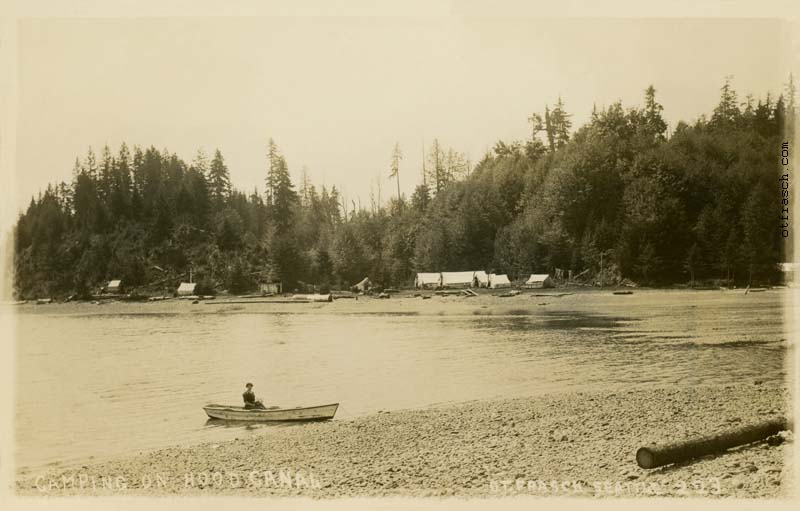 O. T. Frasch Image 223 - Camping on Hood Canal