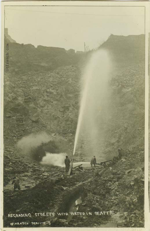 O. T. Frasch Image 3 - Regrading Streets With Water in Seattle