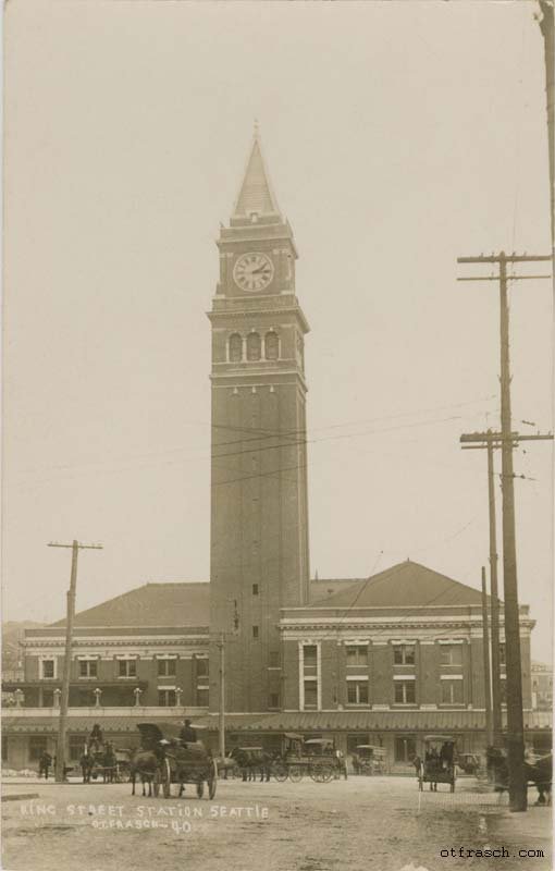 O. T. Frasch Image 40 - King Street Station Seattle