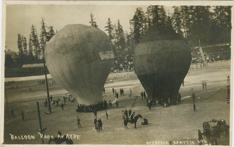 O. T. Frasch Image 606 - Balloon Race at AYPE