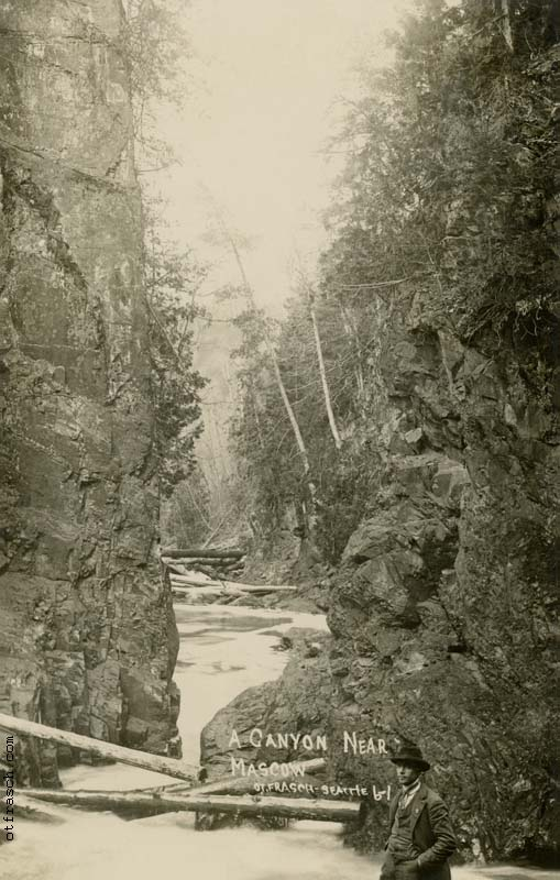 O. T. Frasch Image 61 - A Canyon Near Mascow