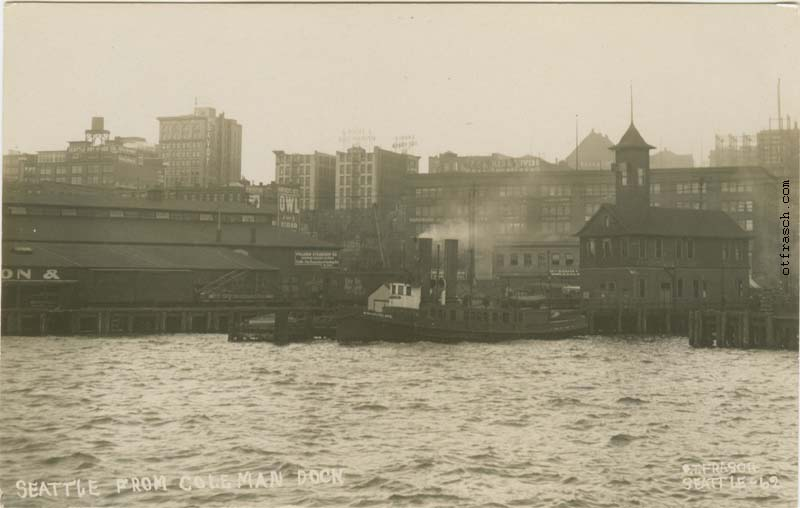 O. T. Frasch Image 62 - Seattle from Coleman Dock