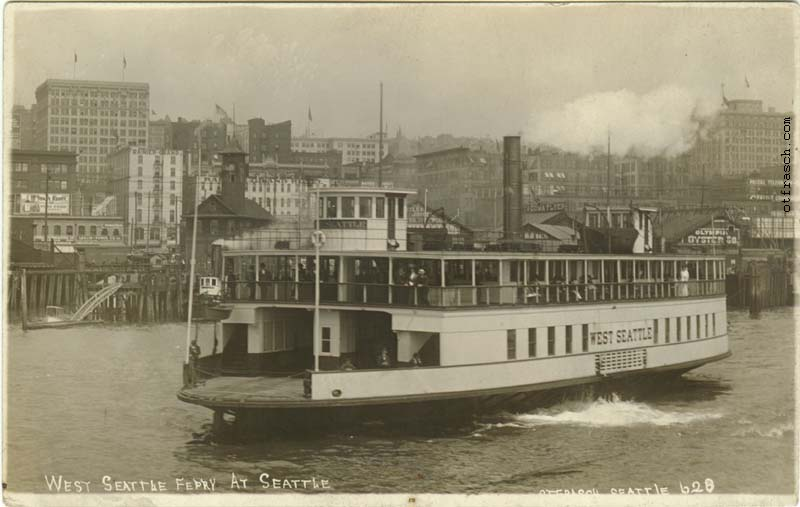 O. T. Frasch Image 628 - West Seattle Ferry at Seattle