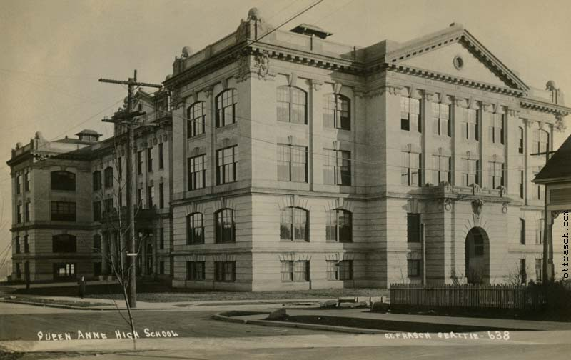 O. T. Frasch Image 638 - Queen Anne High School