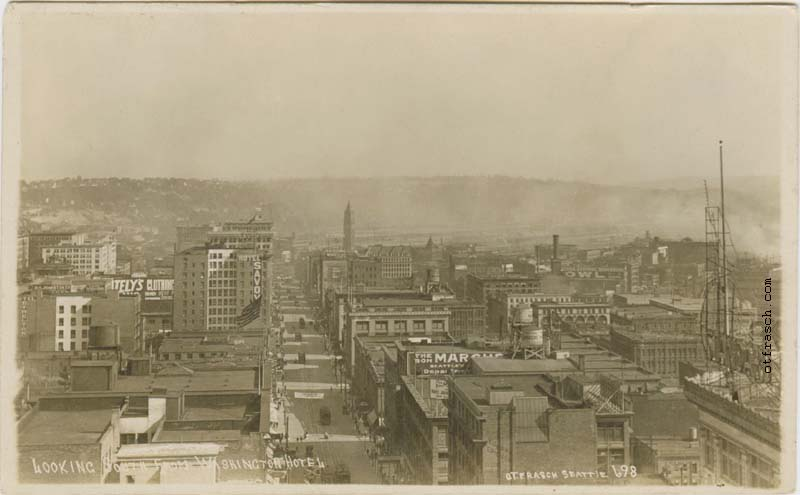 O. T. Frasch Image 698 - Looking South from Washington Hotel