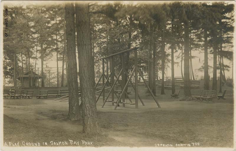 O. T. Frasch Image 702 - A Play Ground in Salmon Bay Park
