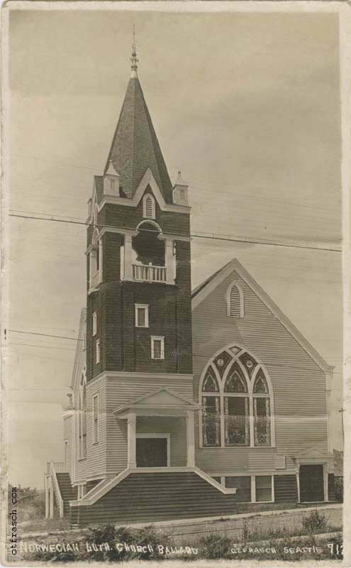 O. T. Frasch Image 713 - Norwegian Luth. Church Ballard