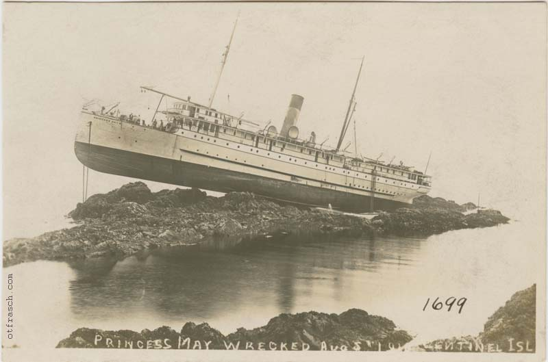 Copy of Image 790 - Princess May Wrecked Aug 5 1910 Sentinel Isl