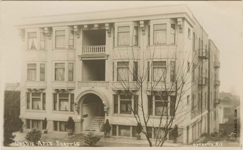 O. T. Frasch Image 812 - Goldie Apts Seattle
