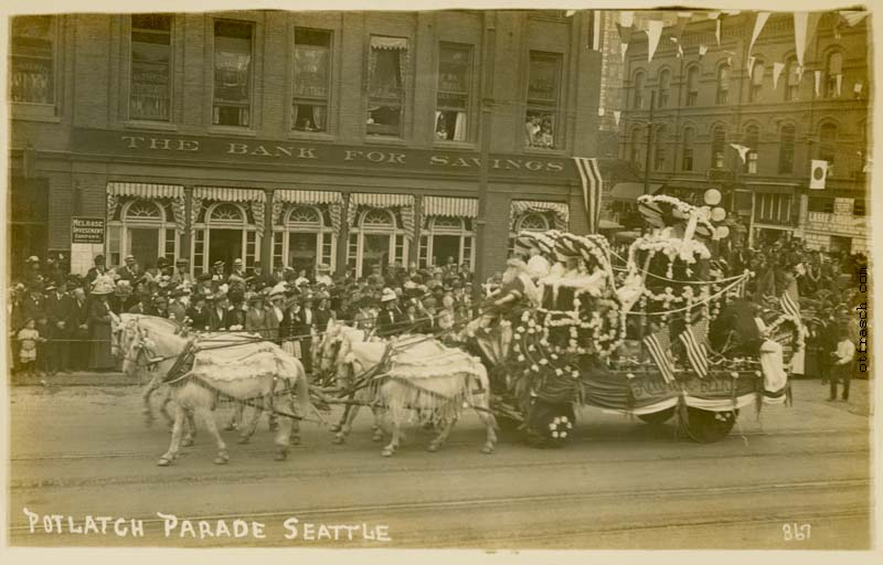 O. T. Frasch Image 867 - Potlatch Parade Seattle