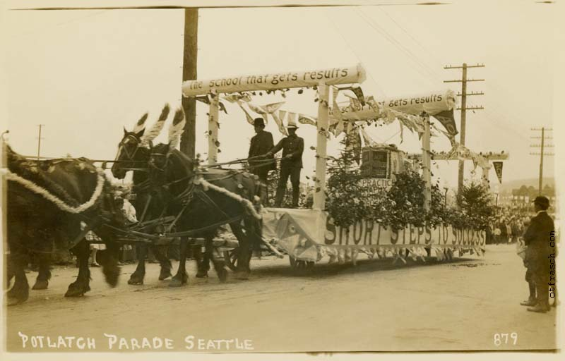 O. T. Frasch Image 879 - Potlatch Parade Seattle