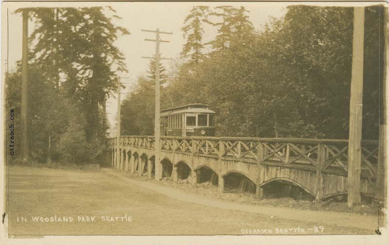 O. T. Frasch Image 89 - In Woodland Park Seattle