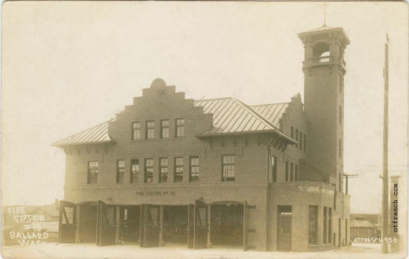 O. T. Frasch Image 956 - Fire Station No. 10 Ballard Washington