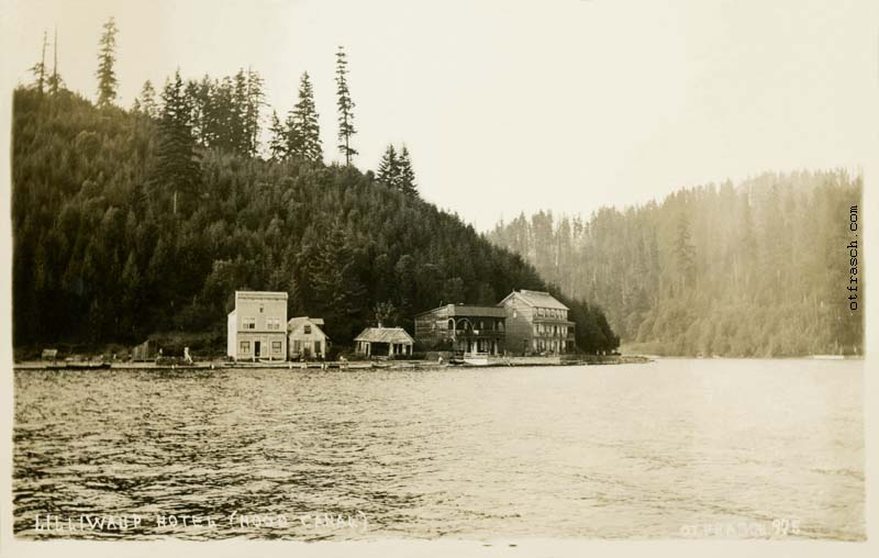 O. T. Frasch Image 975B - Lilliwaup Hotel (Hood Canal)