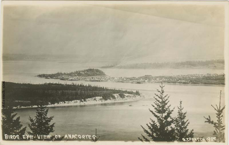 O. T. Frasch Image 987 - Birds Eye View of Anacortes