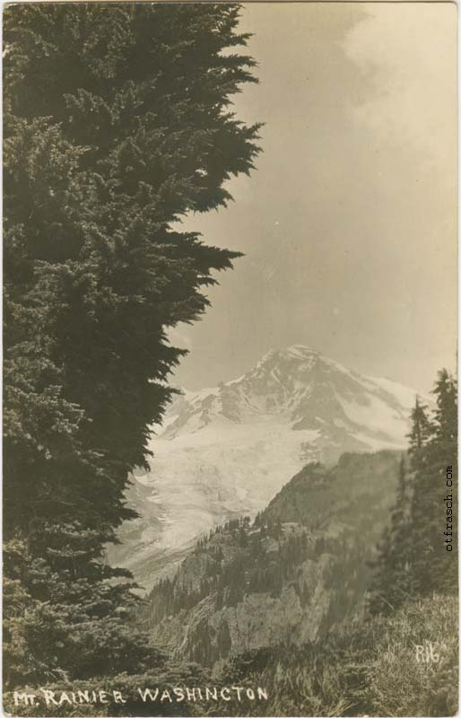 O. T. Frasch Image R16 - Mt. Rainier Washington