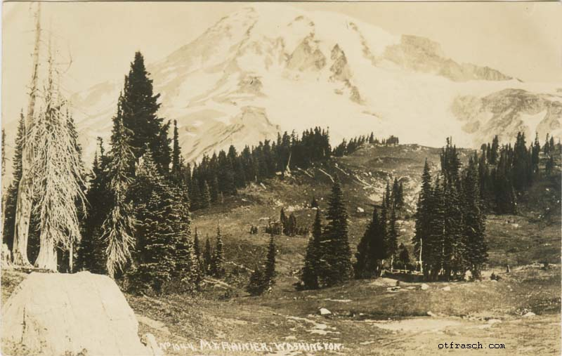Copy A of O. T. Frasch Image R2 - Mt. Rainier Washington