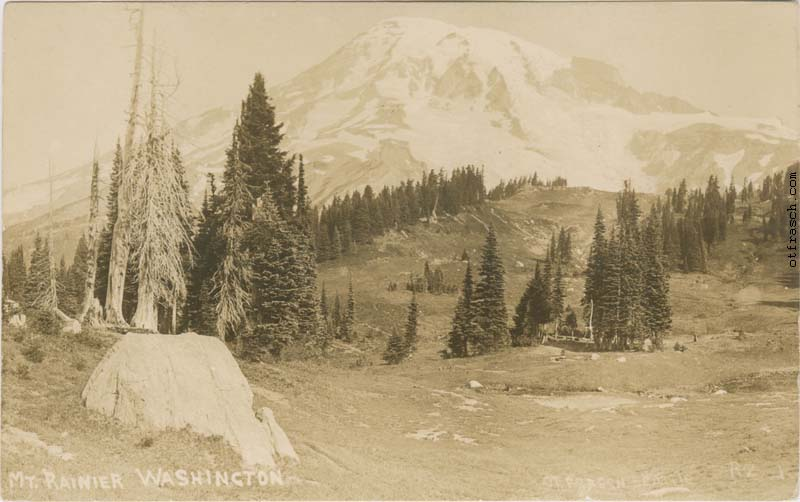 O. T. Frasch Image R2 - Mt. Rainier Washington
