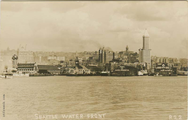 O. T. Frasch Image R22 - Seattle Water Front