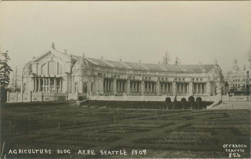 O. T. Frasch Image X26 - Agriculture Bldg. A.Y.P.E. Seattle 1909