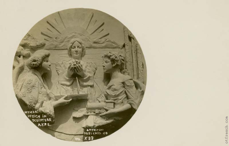 O. T. Frasch Image X33 - Officeal Design in Sculpture A.Y.P.E.